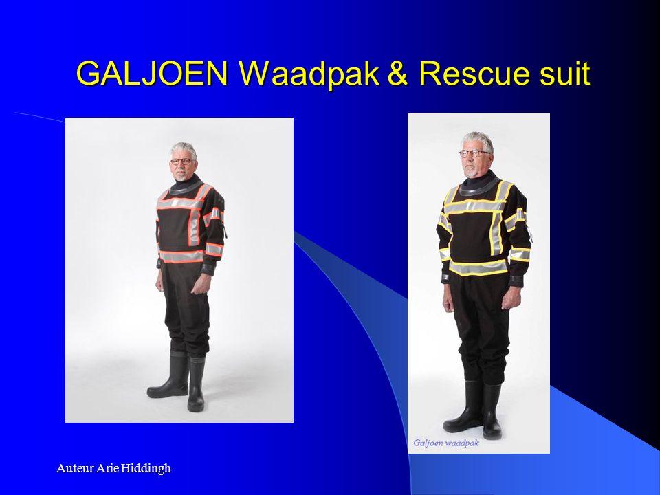GALJOEN Waadpak & Rescue suit Auteur Arie Hiddingh