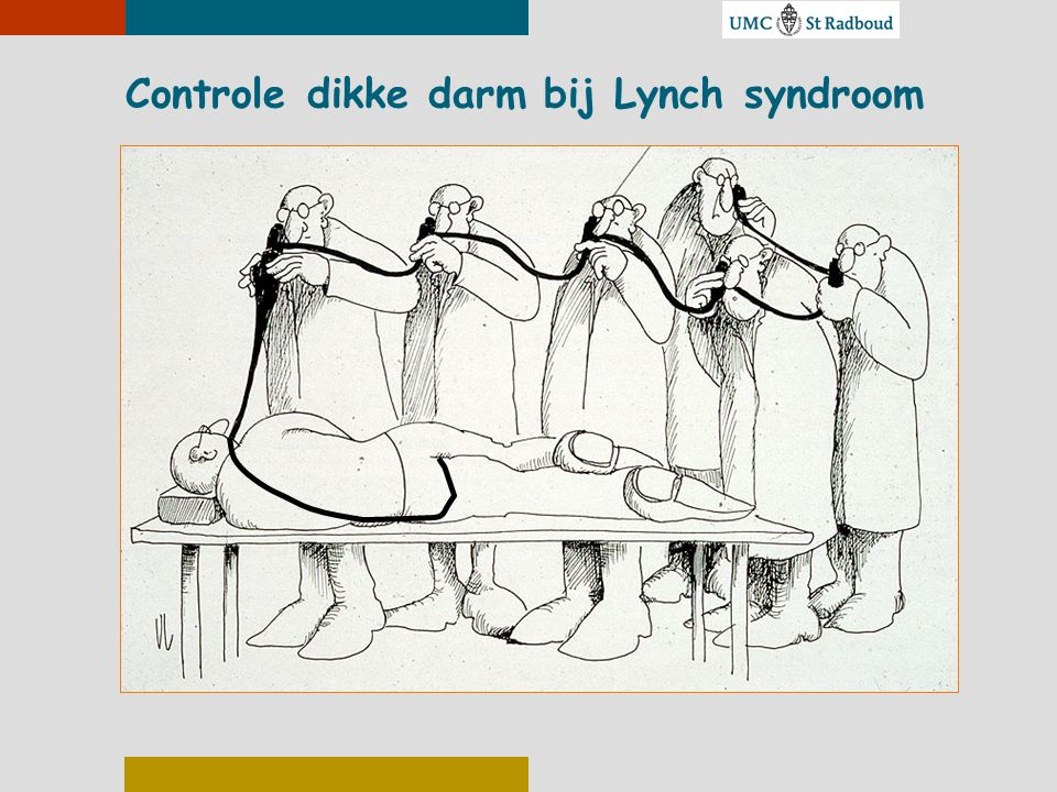 Controle dikke darm bij Lynch syndroom