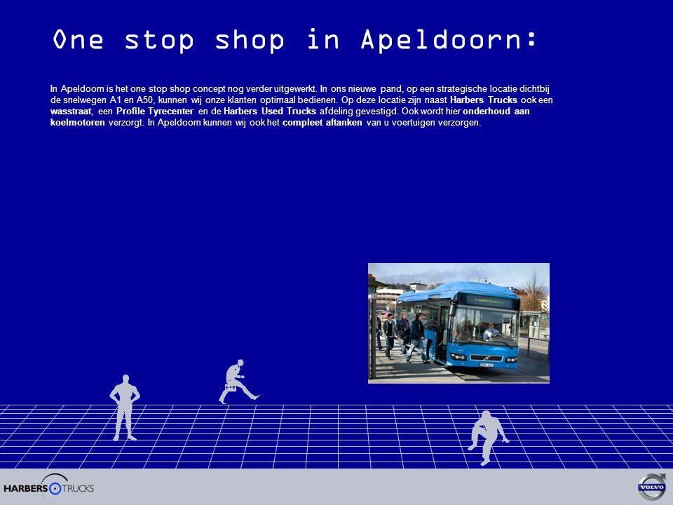 One stop shop in Apeldoorn: In Apeldoorn is het one stop shop concept nog verder uitgewerkt.