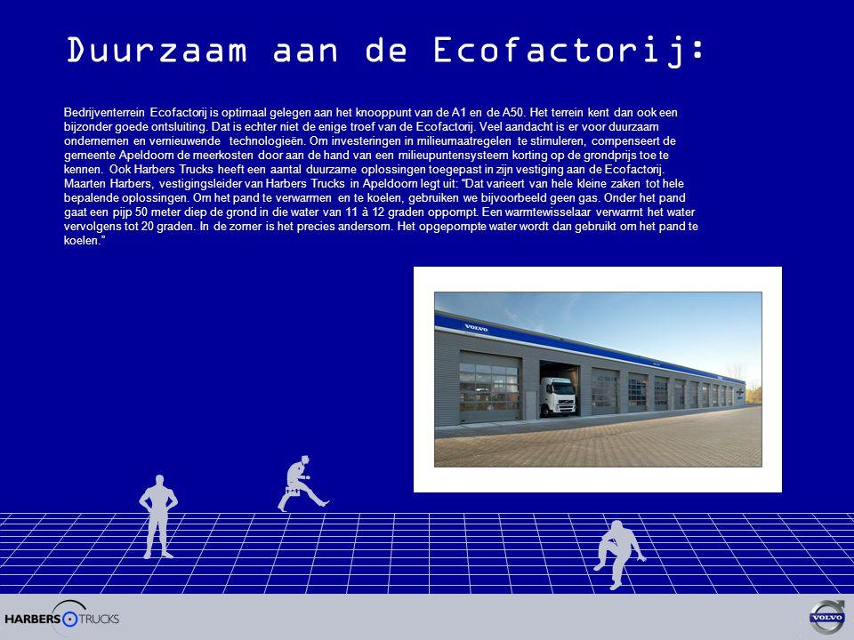 Duurzaam aan de Ecofactorij: Bedrijventerrein Ecofactorij is optimaal gelegen aan het knooppunt van de A1 en de A50.