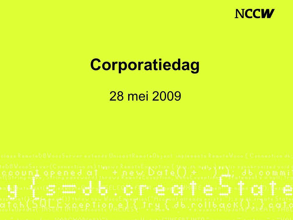 Corporatiedag 28 mei 2009