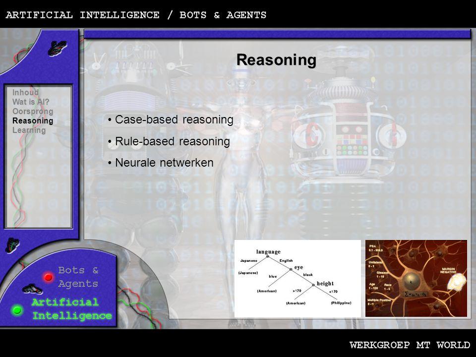 Reasoning Inhoud Wat is AI.