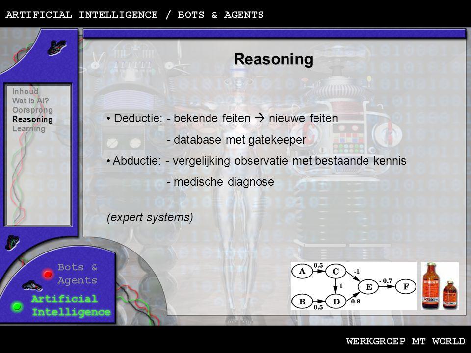 Learning Inhoud Wat is AI.