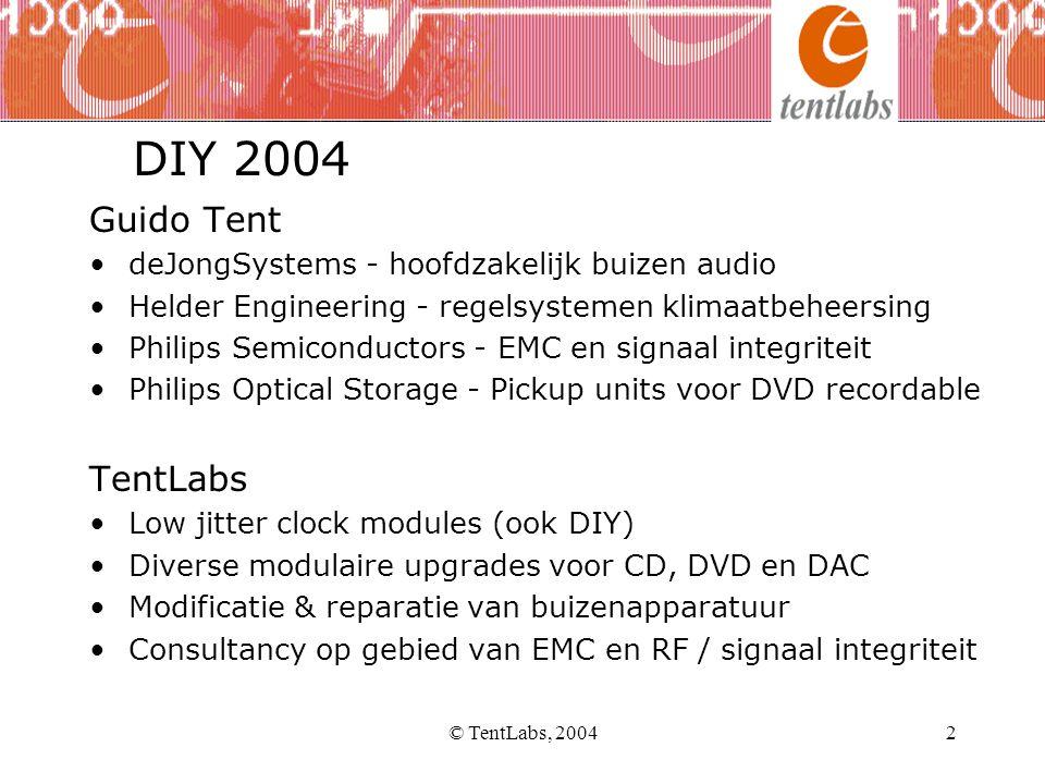 © TentLabs, 200413 CD speler - TEAC, play