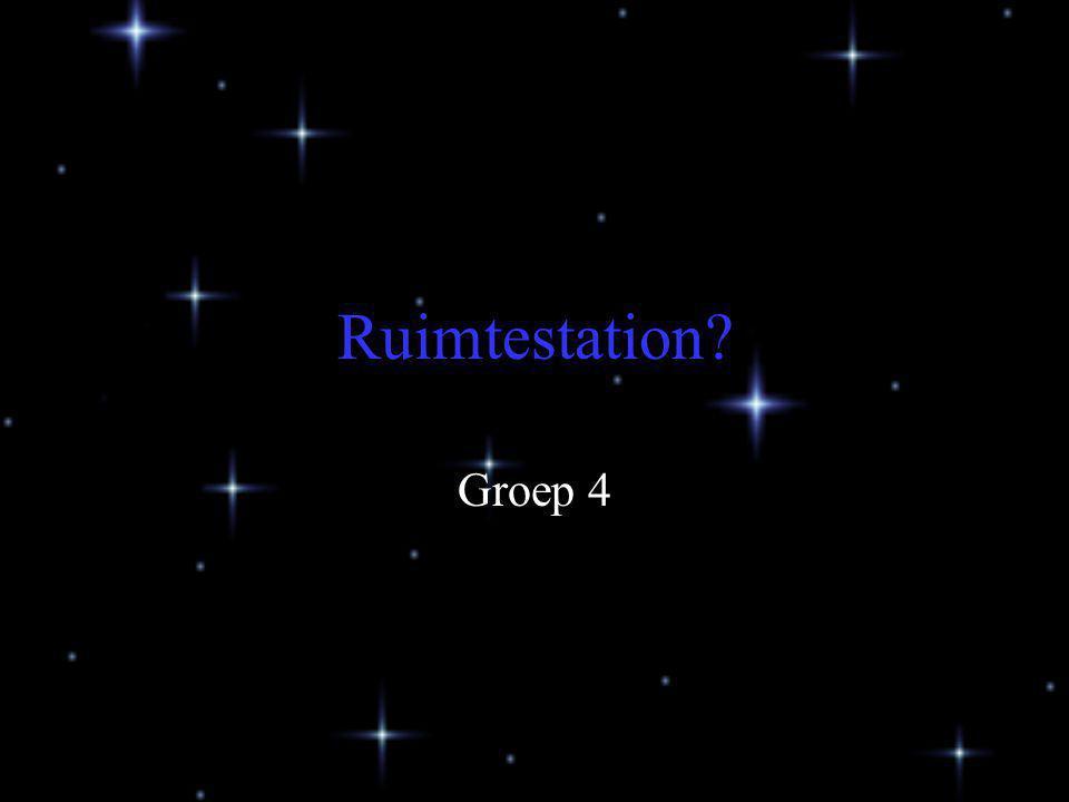 Ruimtestation? Groep 4
