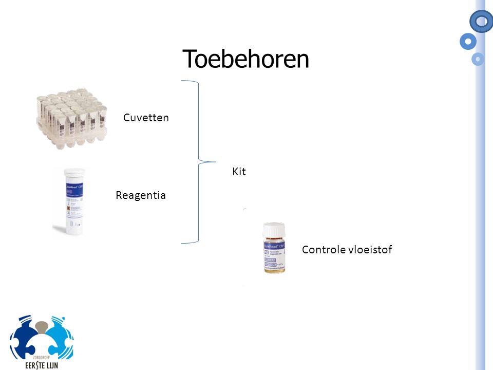 Toebehoren Controle vloeistof Reagentia Cuvetten Kit