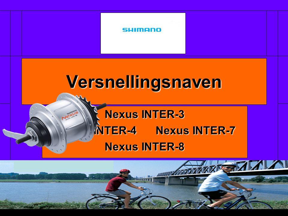Nexus INTER-3 Nexus INTER-4 Nexus INTER-7 Nexus INTER-8 Versnellingsnaven