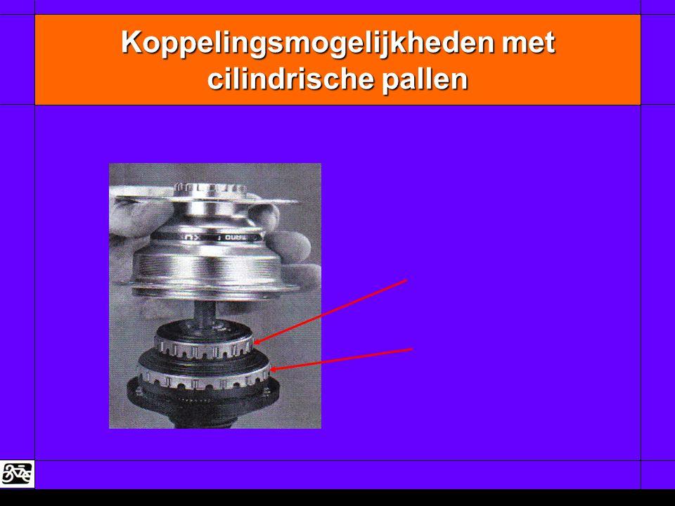 Koppelingsmogelijkheden met cilindrische pallen