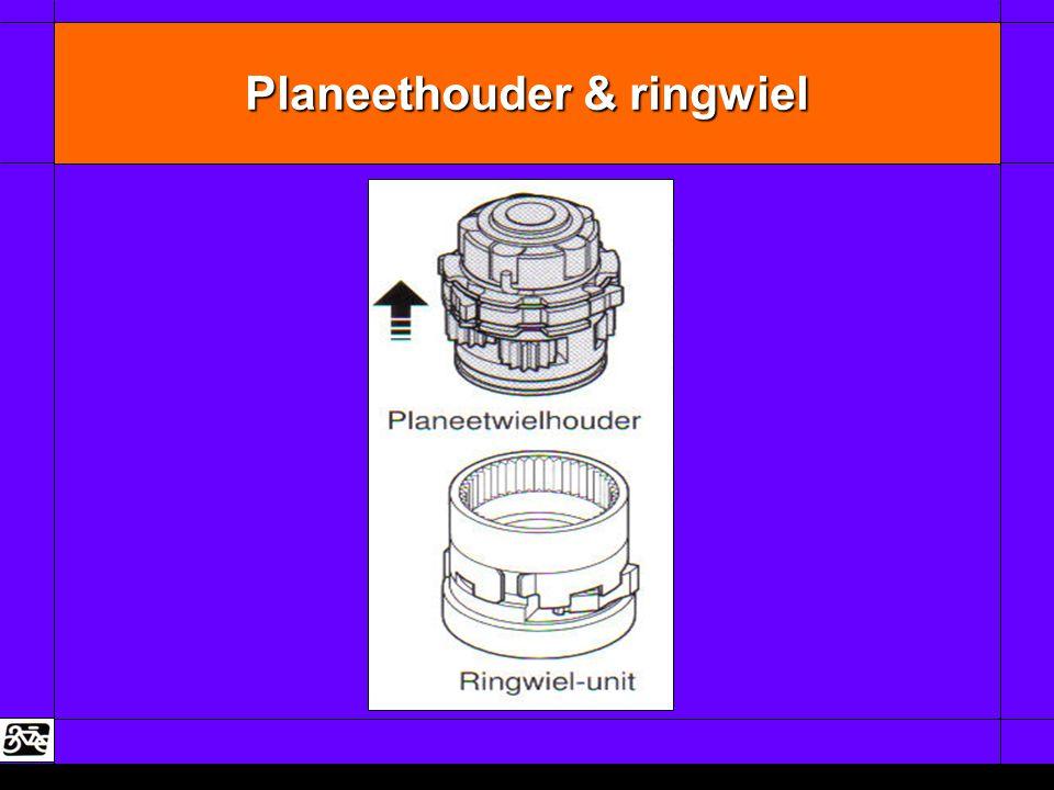 Planeethouder & ringwiel