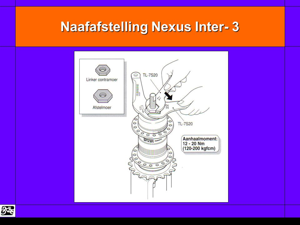 Naafafstelling Nexus Inter- 3