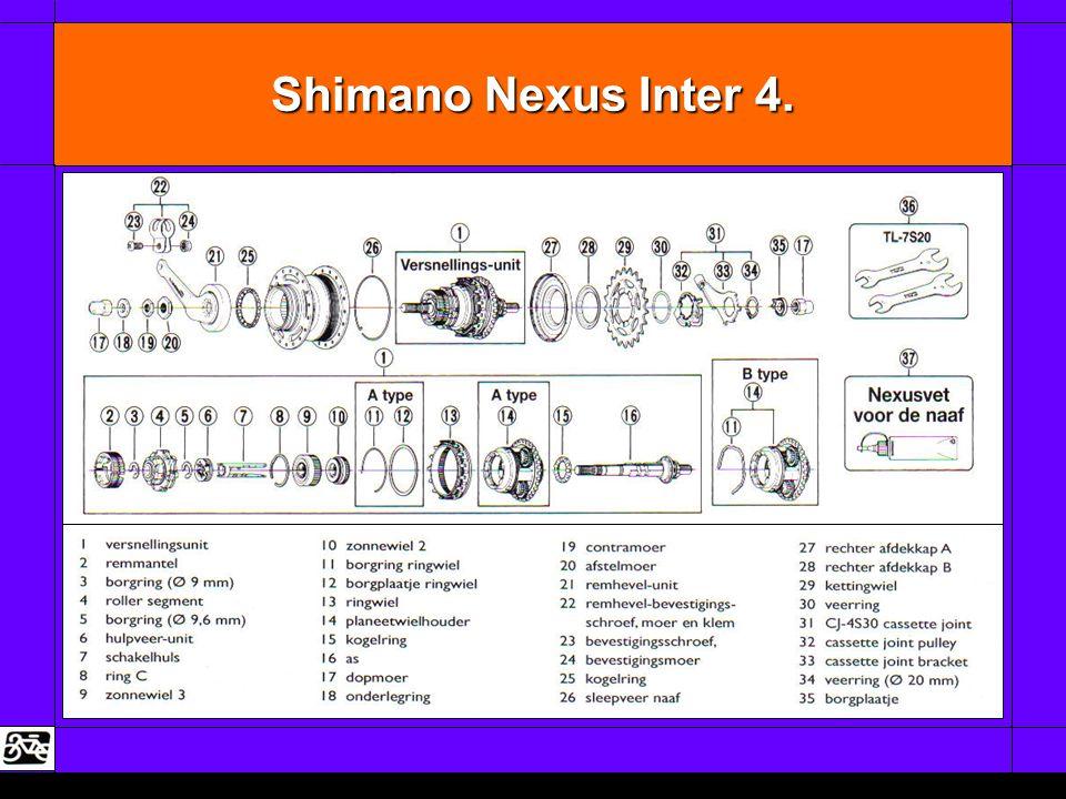 Shimano Nexus Inter 4.