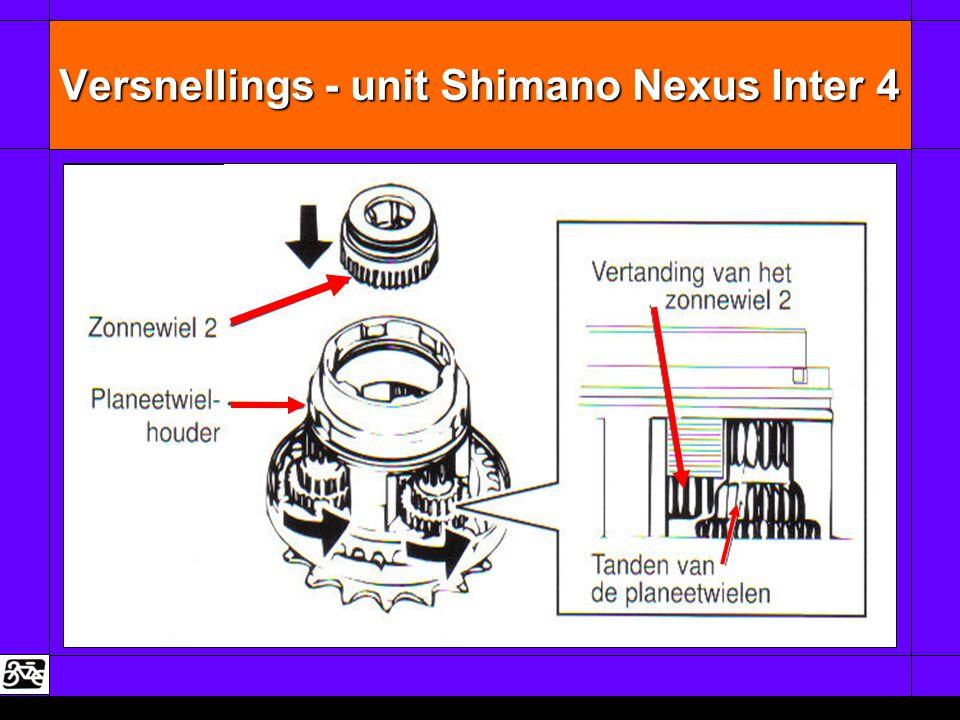 Versnellings - unit Shimano Nexus Inter 4