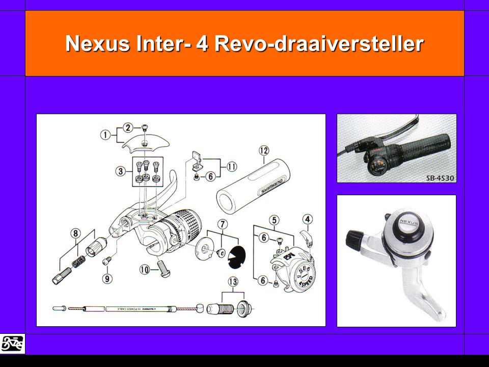 Nexus Inter- 4 Revo-draaiversteller