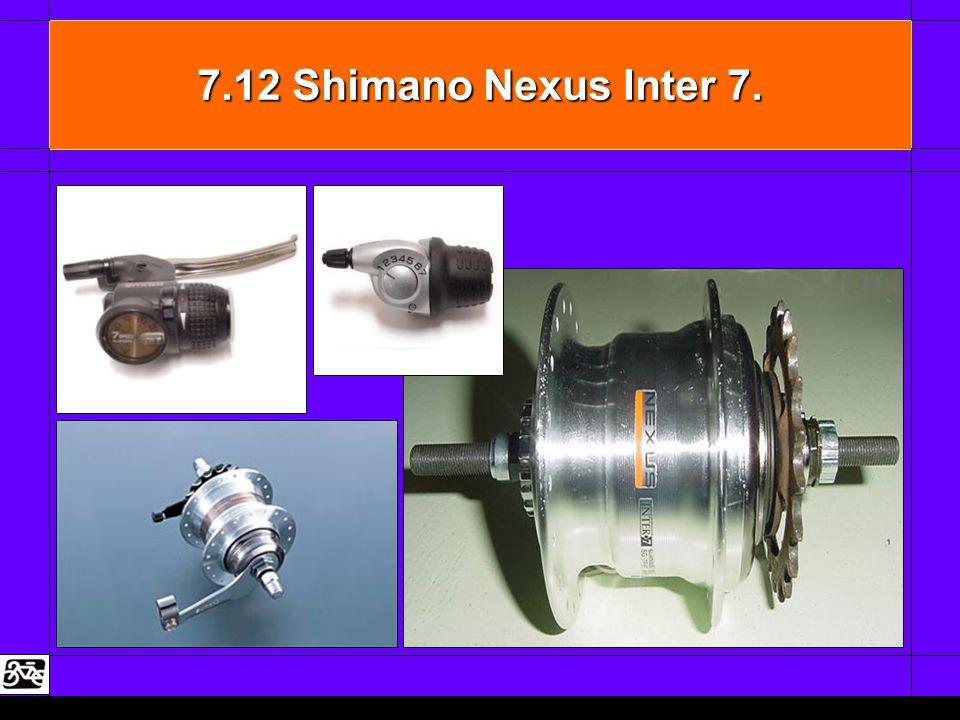 7.12 Shimano Nexus Inter 7.
