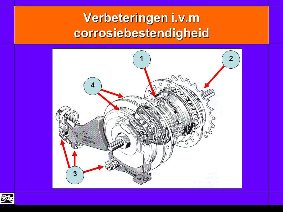 Verbeteringen i.v.m corrosiebestendigheid 3 4 12
