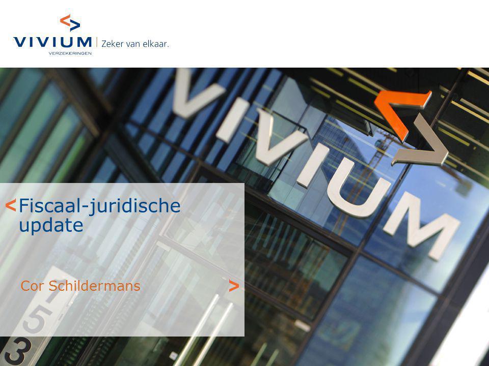 Fiscaal-juridische update Cor Schildermans