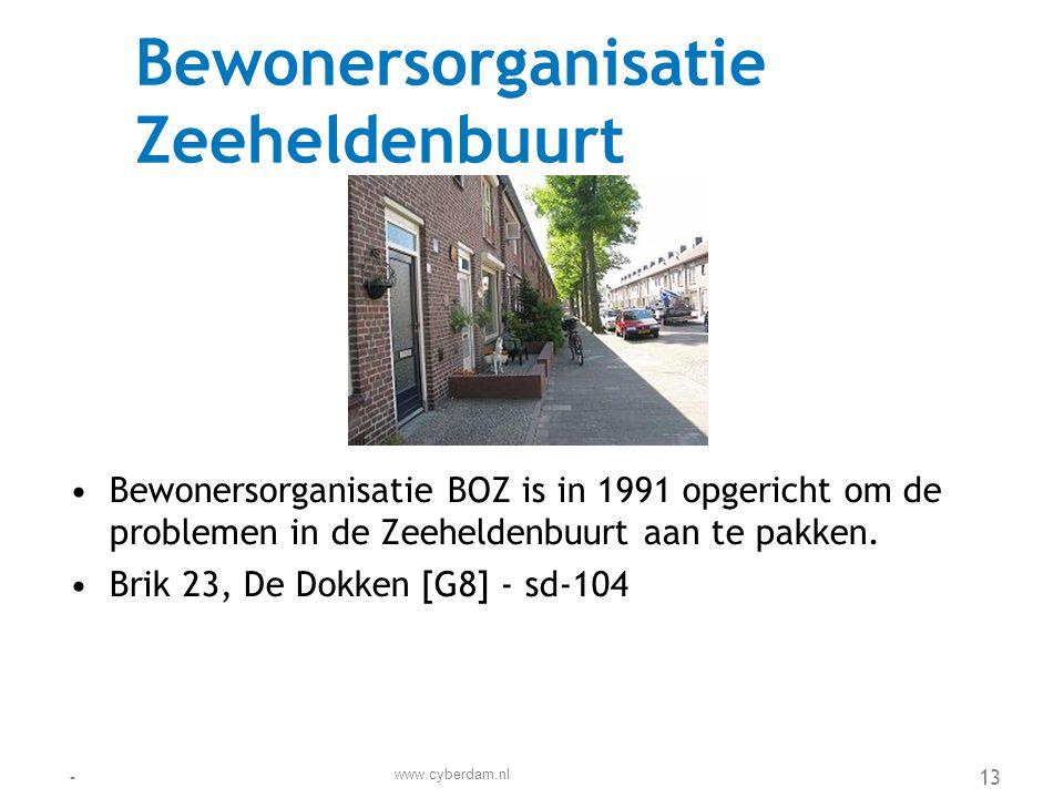 Bewonersvereniging Spoorbuurt •De bewonersvereniging Spoorbuurt komt op voor de belangen van de huurders in de wijk.