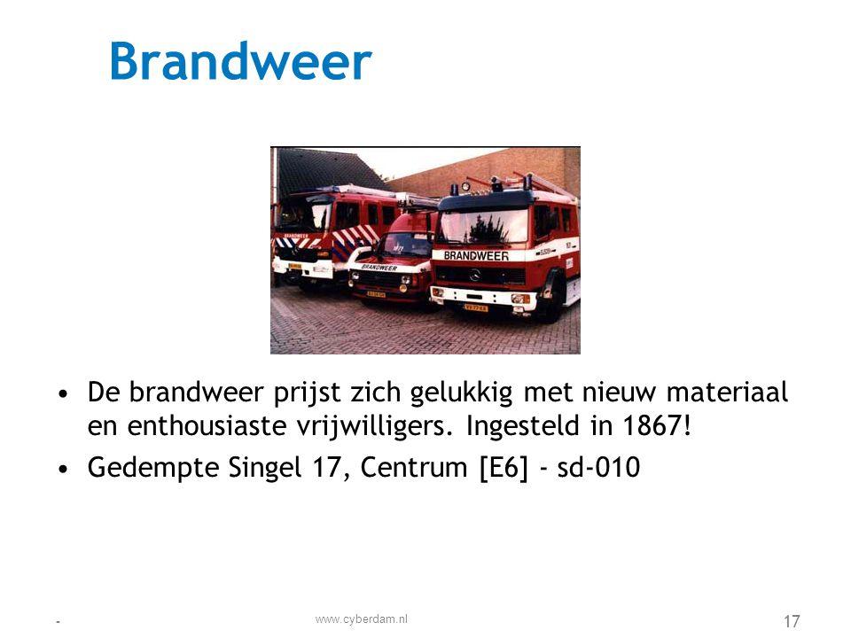 Brede School de Regenboog •De Regenboog is een samenwerkingsverband tussen partijen die zich bezighouden met opgroeiende kinderen •Tjalk 34, De Dokken [G7] - sd-103 www.cyberdam.nl -18