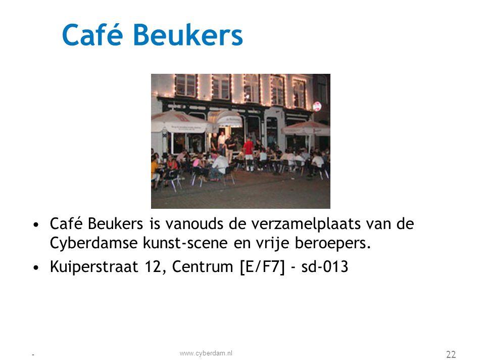 Café Locus •Café Locus is bekend om zijn volks karakter, dat versterkt wordt door de volkse (zang)activiteiten.
