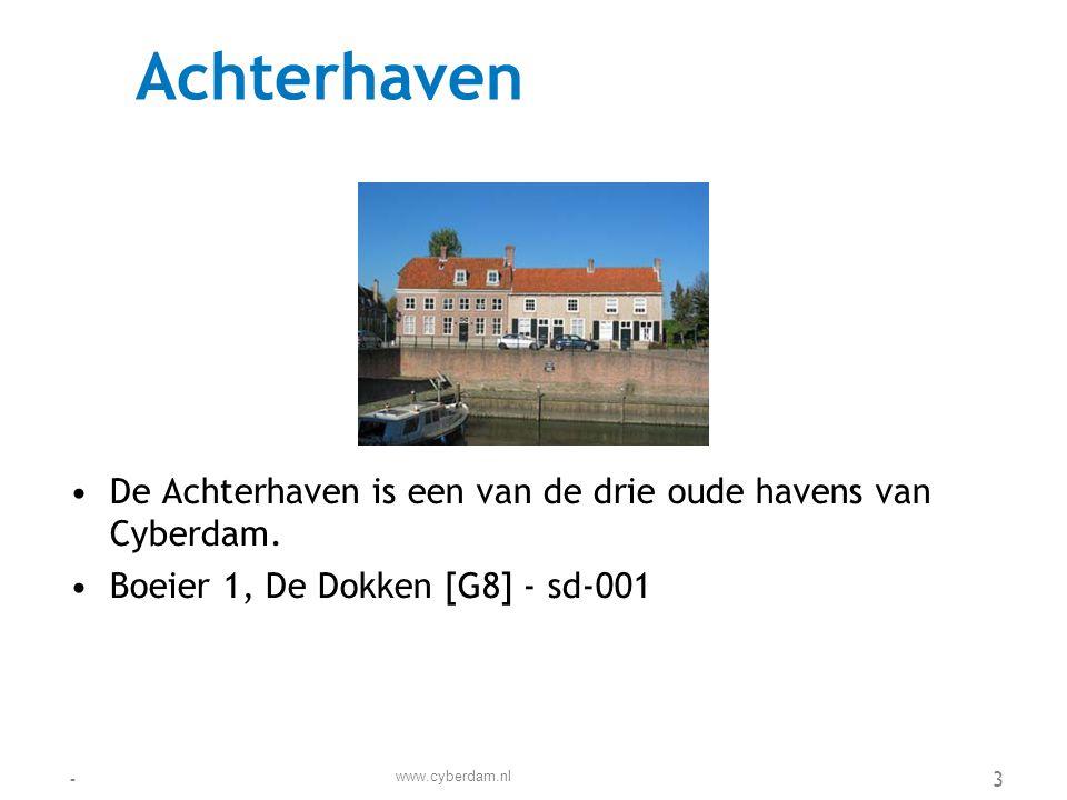 Adviesbureau TBM •Adviesbureau TBM adviseert op het snijvlak van Techniek, Bestuur en Manangement •Bovenvest 3, Nieuwstad [F6] - sd-093 www.cyberdam.nl -4