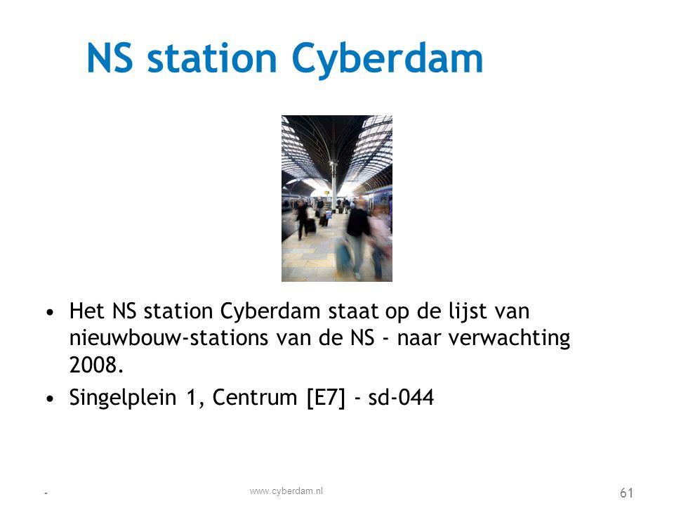 Openbaar Vervoerbedrijf (OVS) •Het Openbaar Vervoerbedrijf Cyberdam vervoert dagelijks ruim 400.000 mensen met bussen en trams.