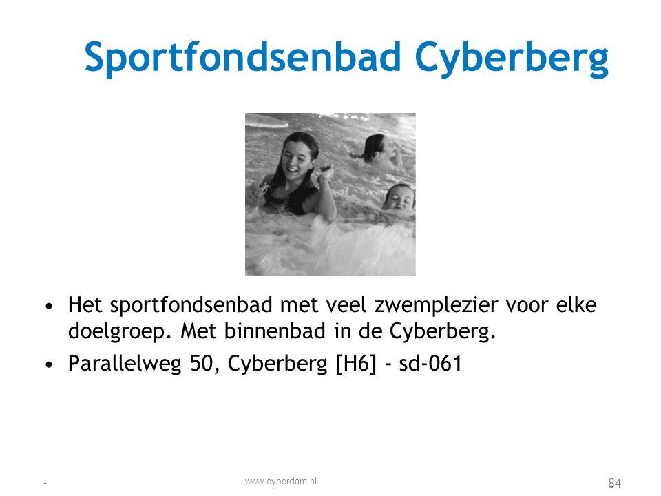 Stad Cyberdam Verzekeringen •Stad Cyberdam Verzekeringen is een middelgrote verzekeraar, landelijk opererend vanuit Zoetermeer.