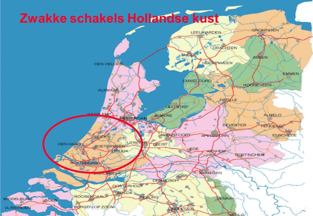 33 Belang middellange termijn verwachtingen 3 …10 dagen vooruit Zwakke schakels Hollandse kust