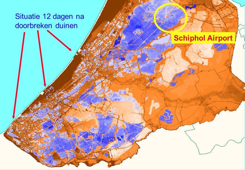 45 Situatie 12 dagen na doorbreken duinen Schiphol Airport