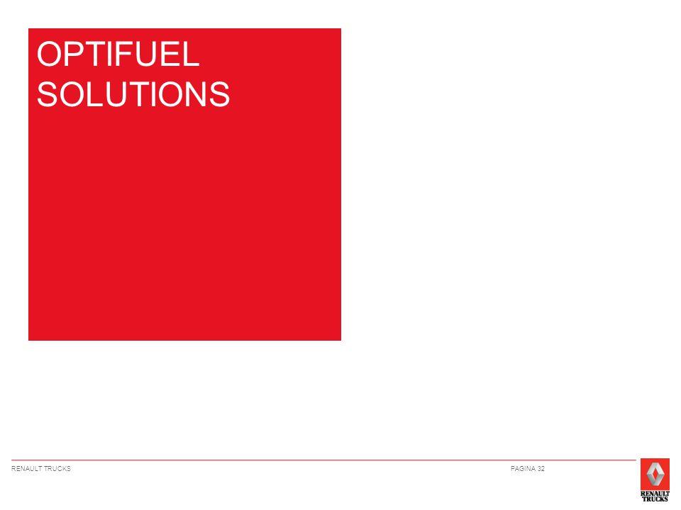 RENAULT TRUCKSPAGINA 32 OPTIFUEL SOLUTIONS
