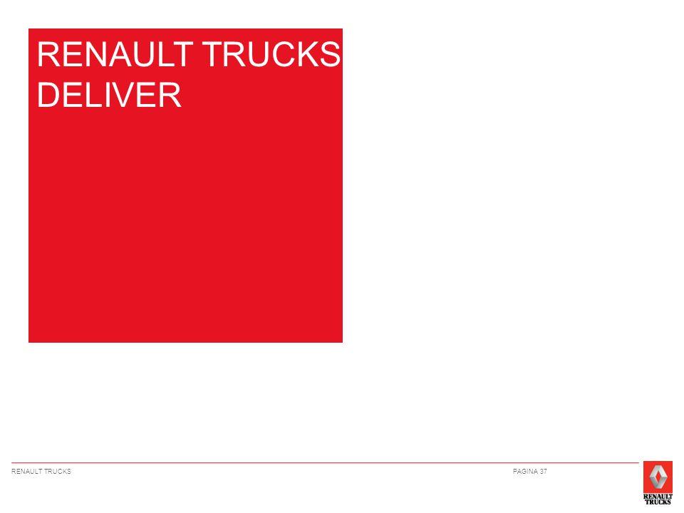 RENAULT TRUCKSPAGINA 37 RENAULT TRUCKS DELIVER