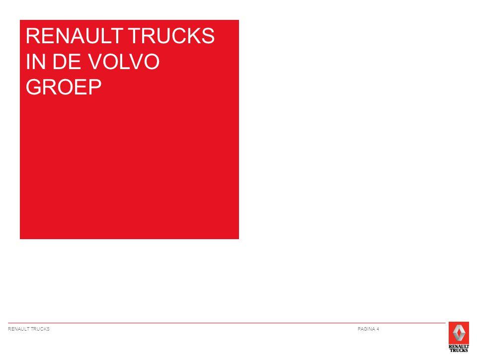 RENAULT TRUCKSPAGINA 4 RENAULT TRUCKS IN DE VOLVO GROEP