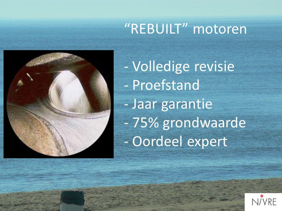 """""""REBUILT"""" motoren - Volledige revisie - Proefstand - Jaar garantie - 75% grondwaarde - Oordeel expert"""