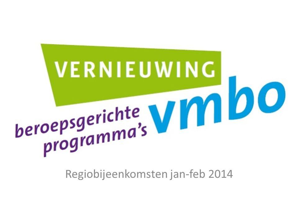Regiobijeenkomsten jan-feb 2014