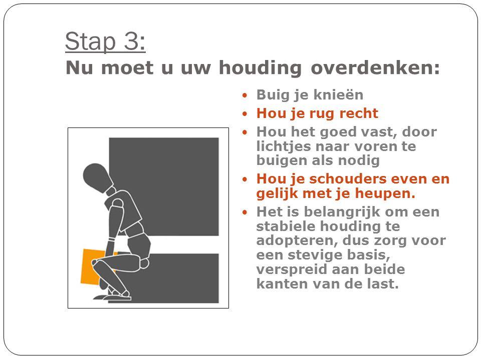 Stap 2: Maak een beslissing hoe en waar je de lading gaat dragen.