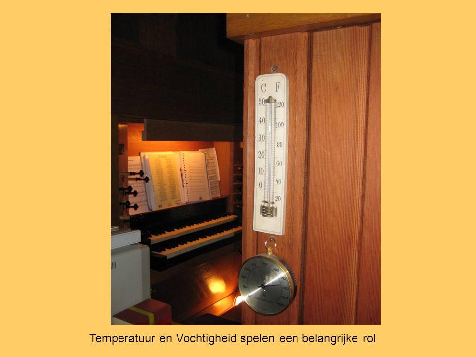 Temperatuur en Vochtigheid spelen een belangrijke rol
