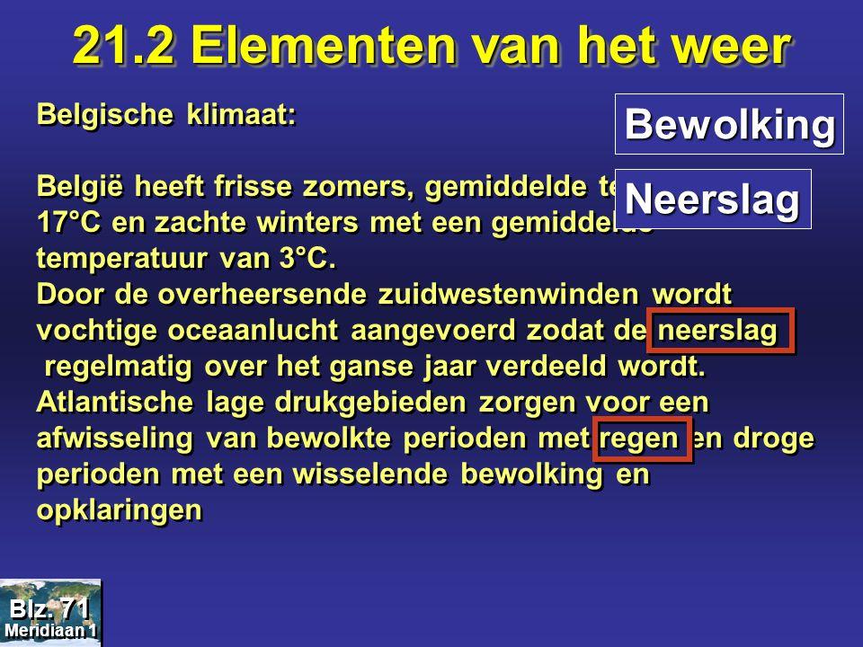 Bewolking Belgische klimaat: België heeft frisse zomers, gemiddelde temperatuur 17°C en zachte winters met een gemiddelde temperatuur van 3°C. Door de