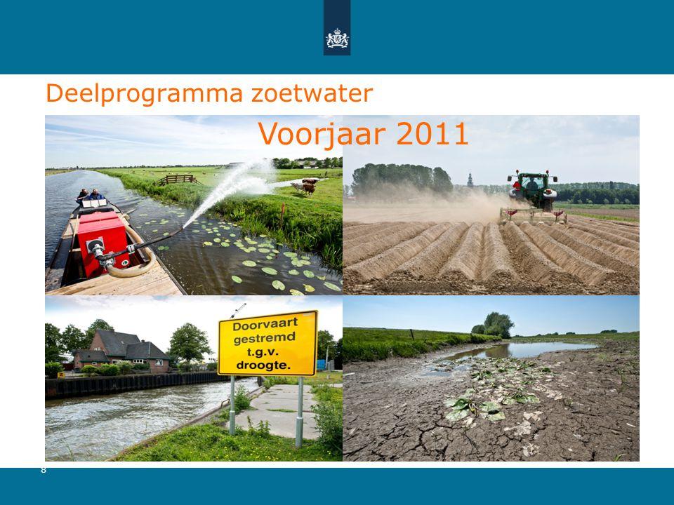 Deelprogramma zoetwater •Plaatje 8 Voorjaar 2011