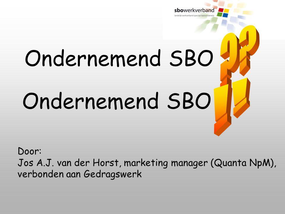 Het SBO weer een stap vooruit!