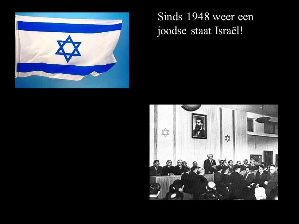 einde van Zionisme = vrede