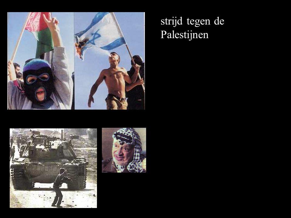 strijd tegen de Palestijnen