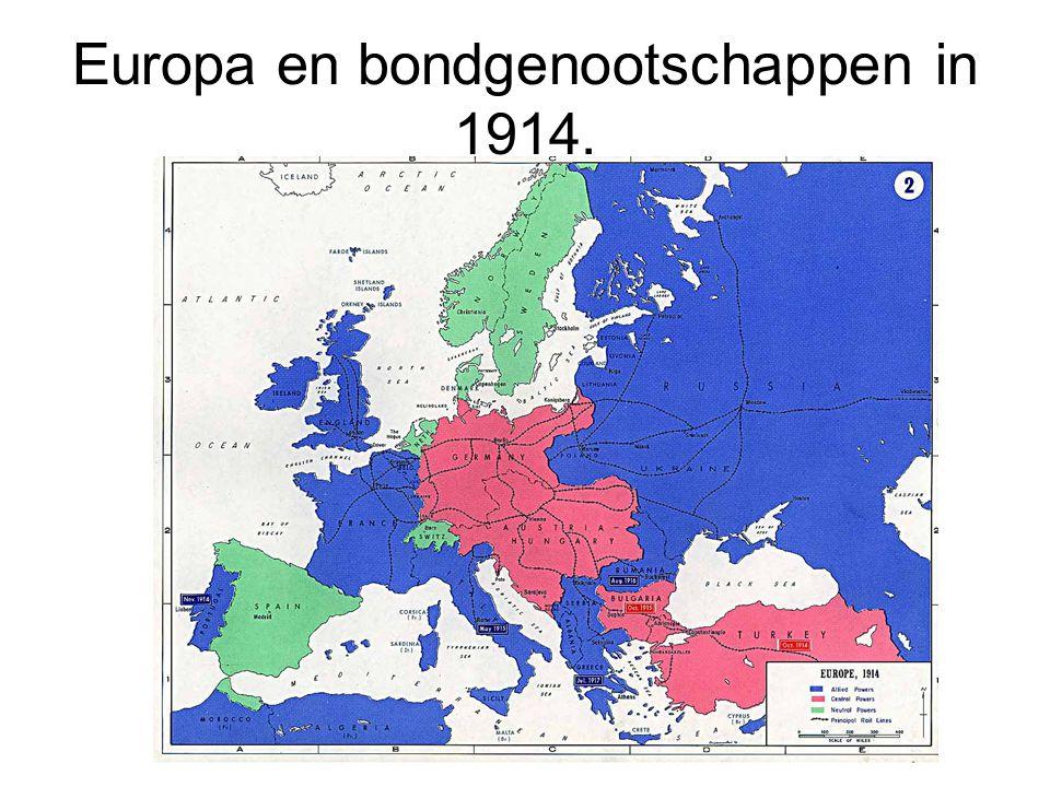 1919: Vrede van Versailles.•Duitsland moest Elzas en Lotharingen teruggeven aan Frankrijk.