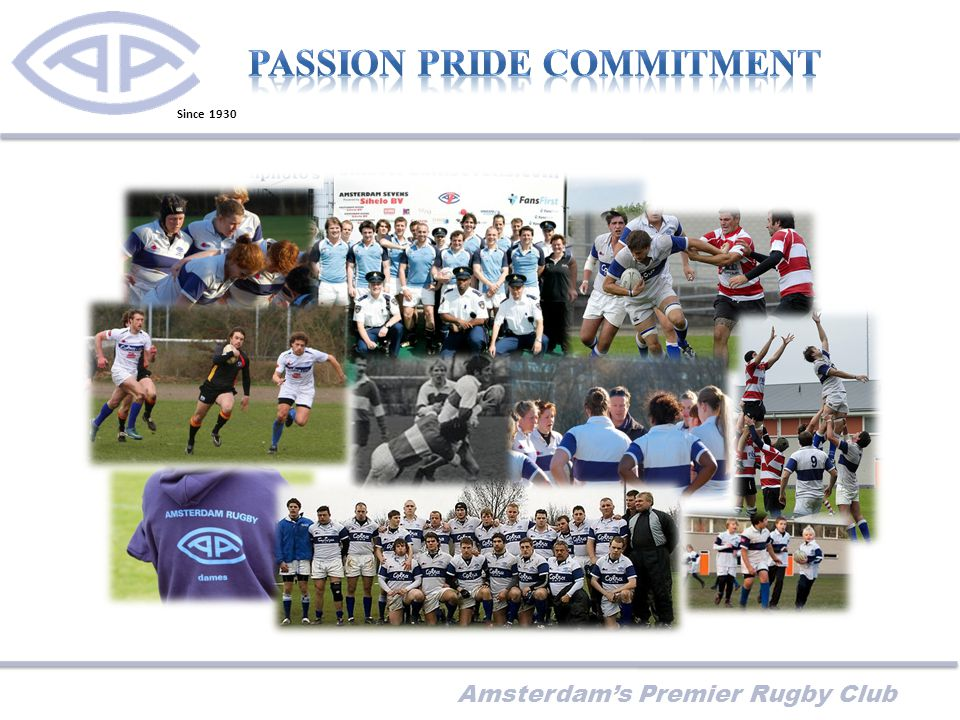 Amsterdam's Premier Rugby Club Since 1930