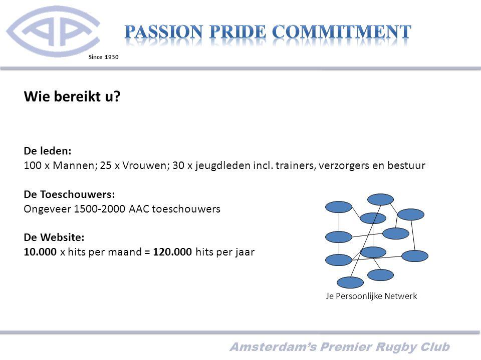 Amsterdam's Premier Rugby Club Wie bereikt u.