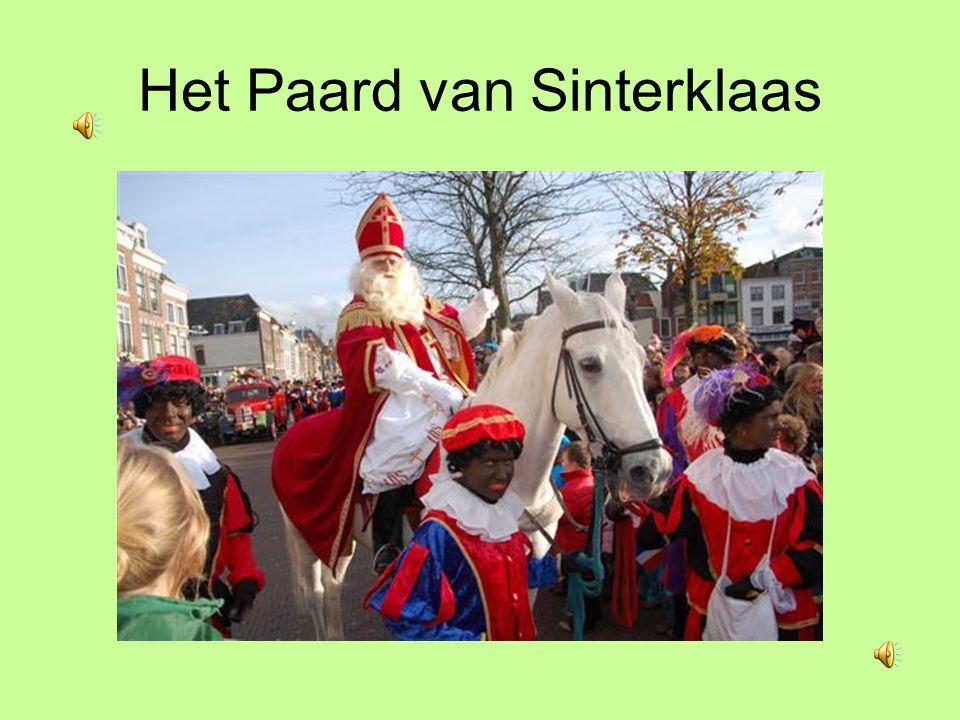 De boot van Sinterklaas