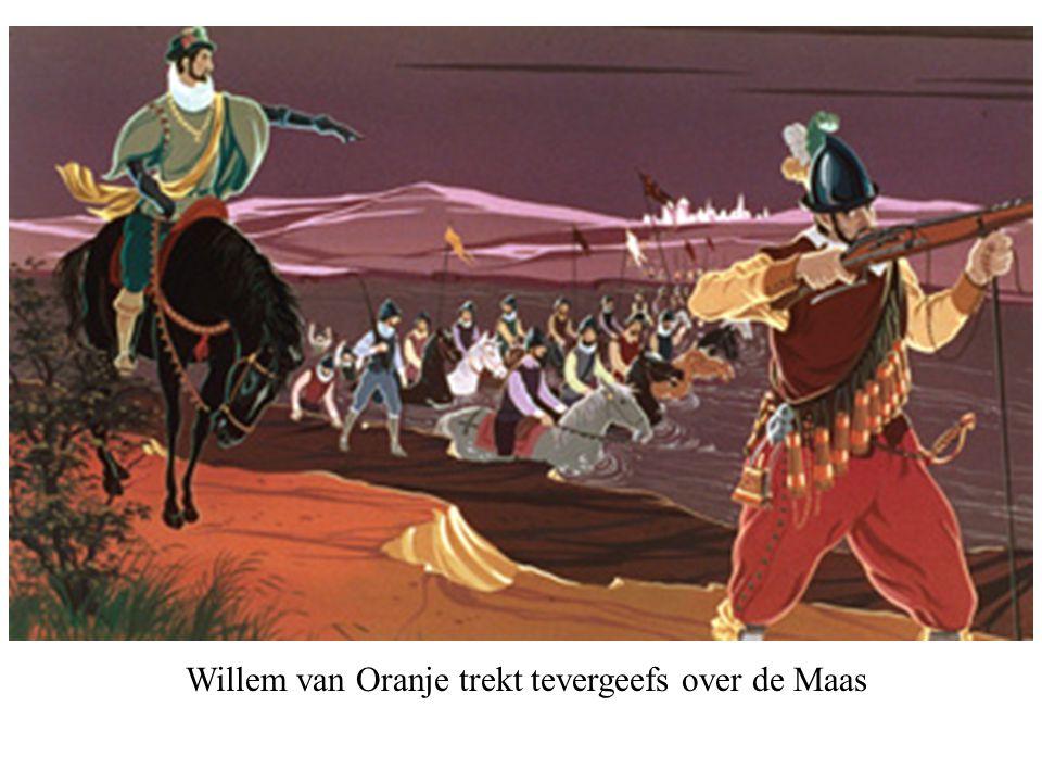 Feesten bij de ontmoeting van Willem van Oranje en de hertog van Anjou