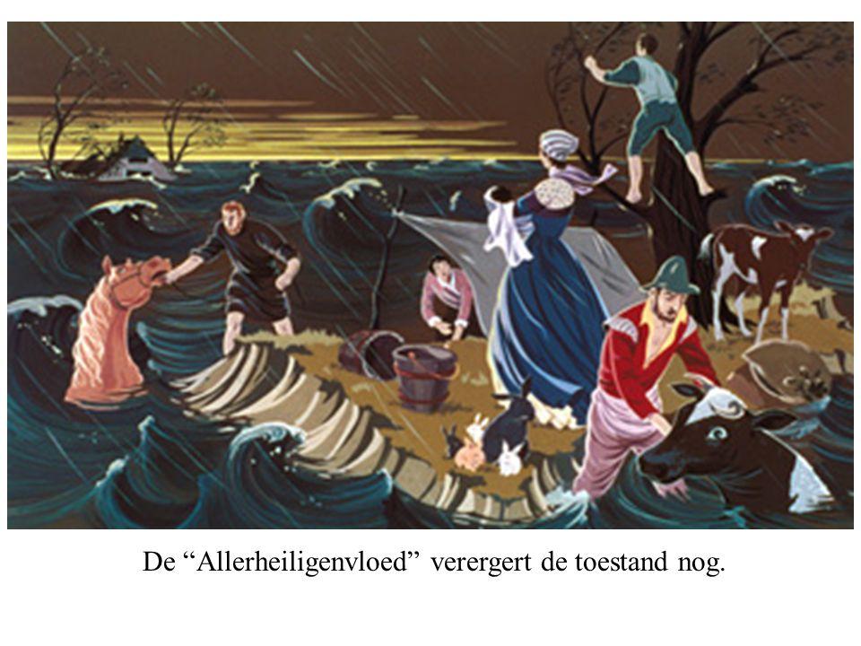 De gewesten van de Unie van Utrecht. In 1579 worden noord en zuid voorgoed gescheiden