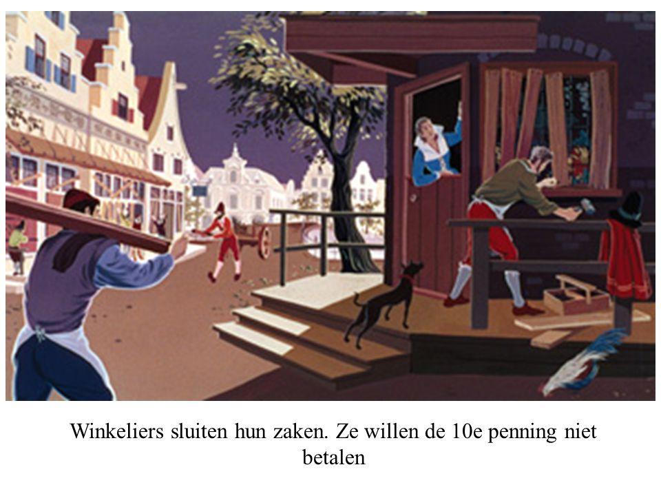 Haarlem is door de Spanjaarden ingesloten.