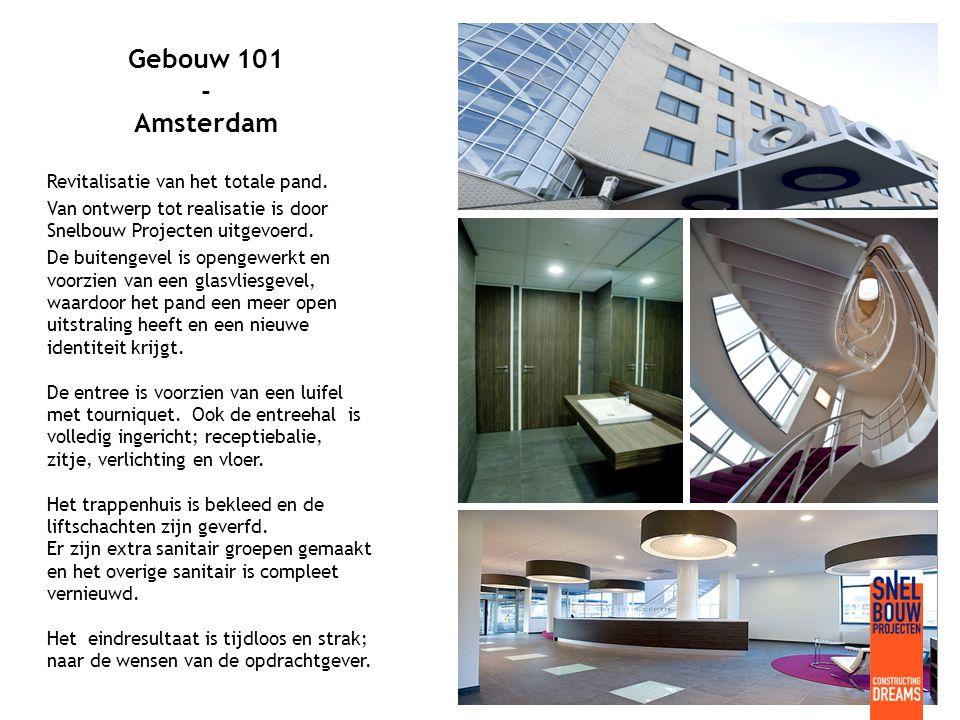 Taqa Energy - Den Haag Voor de verhuizing van Taqa Energy naar een pand in Den Haag, werd een totaalontwerp gemaakt, voor de entree, de kantoren en de kantine.