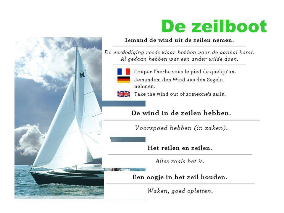 De zeilboot
