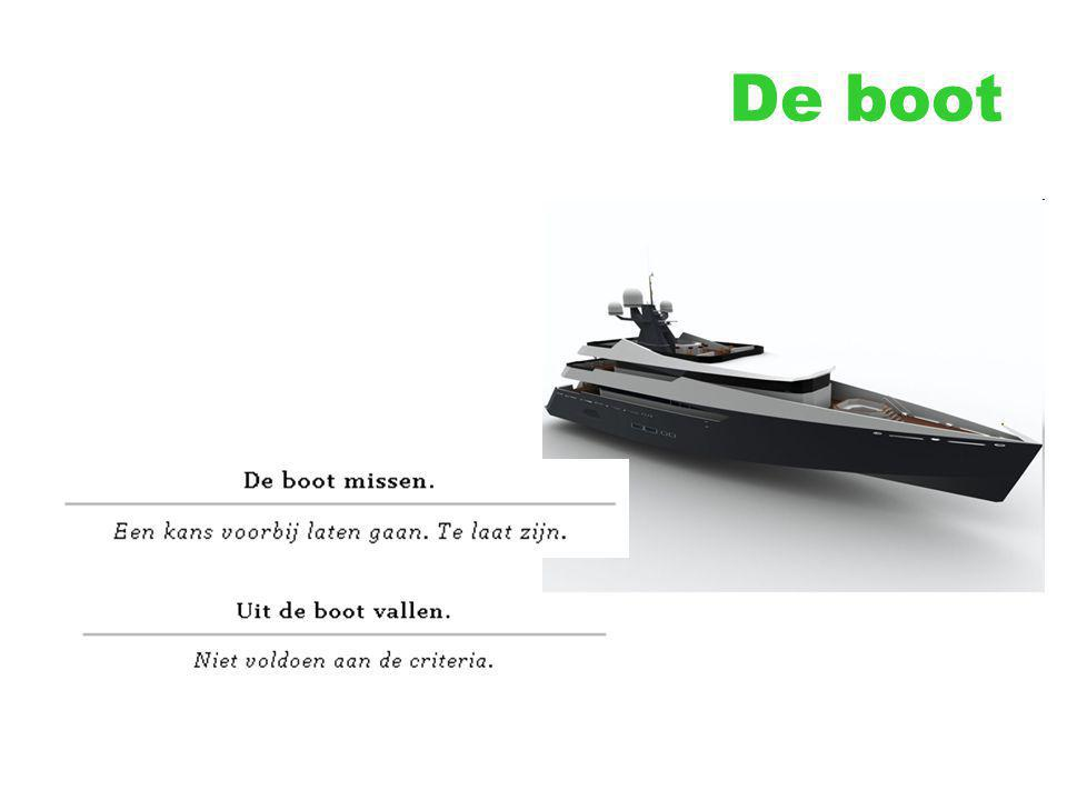 De boot
